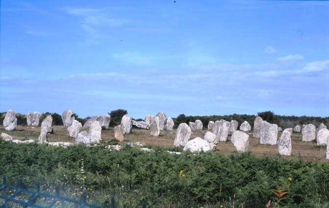 Some Megaliths From Brittany