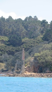 The ruins of the pumphouse