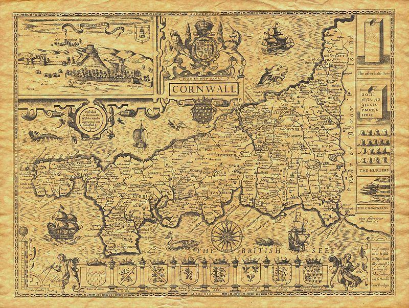 john_speed_-_map_of_cornwall_-_1614_-_001