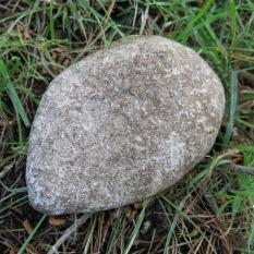 The odd stone...