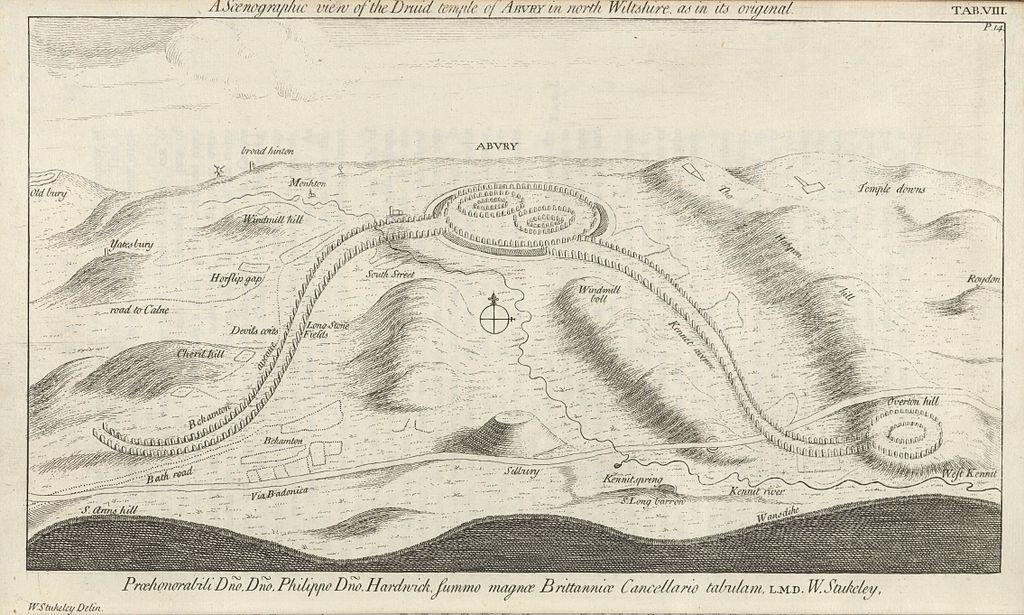 Houghton_Arc_855.214_-_Stukely,_the_Druid_temple_of_Abury