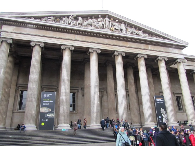 The British Museum – a fleeting visit.