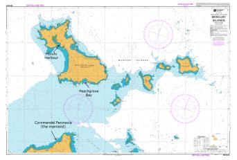 Mercury Island Chart Picture