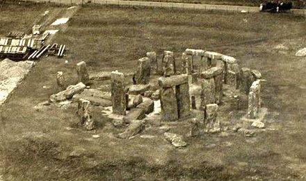 stonehenge 1917