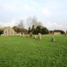 The stone row