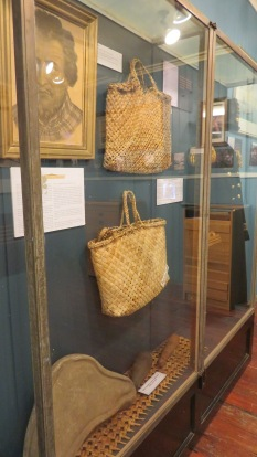 Some of the precious taonga on display.