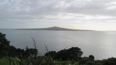 The view towards Rangitoto.