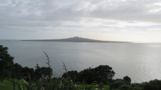 The view towards Rangitoto.