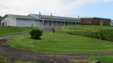 The latter barracks on the summit.