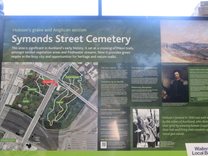 Symonds St CEMETERY